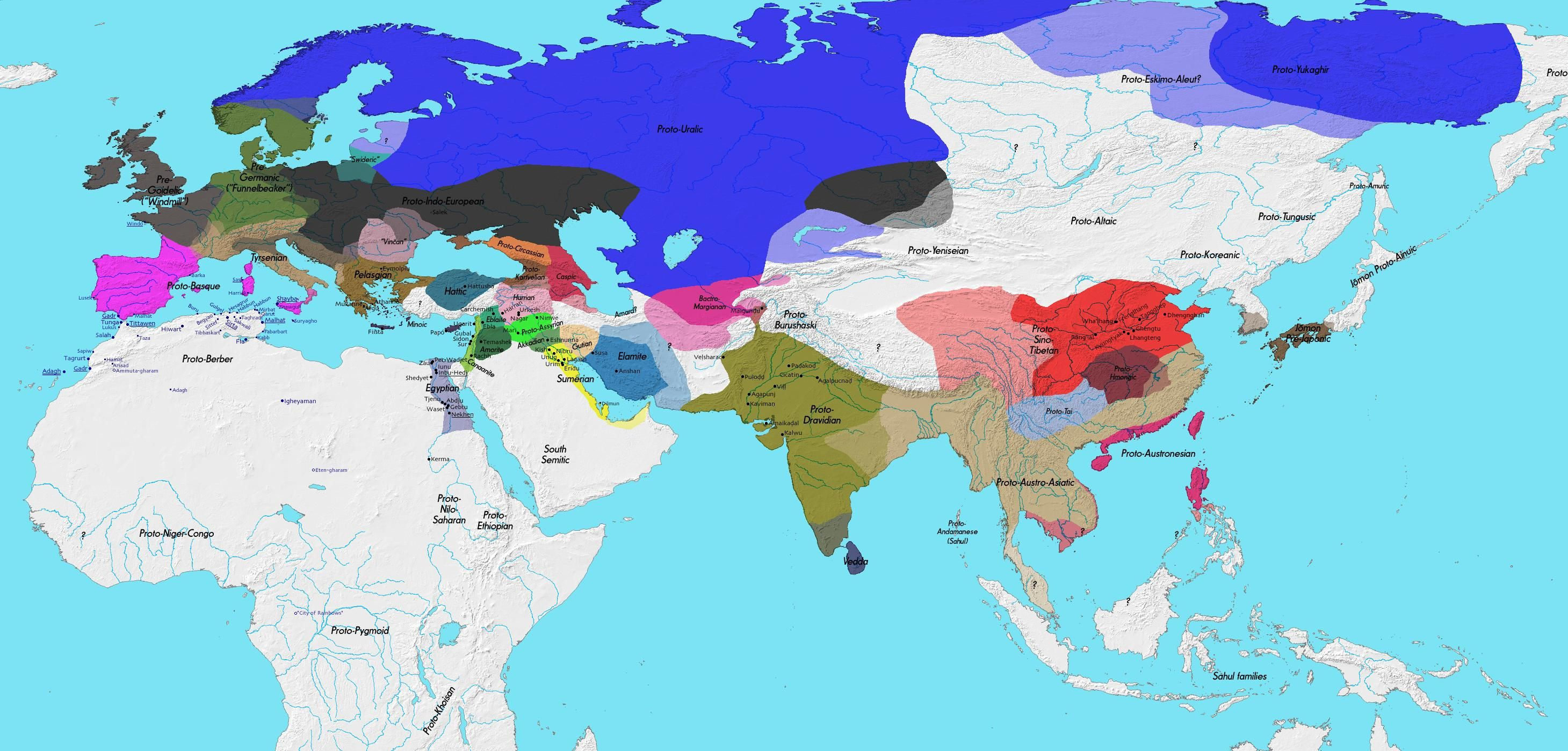 Language map 3000 bc language pinterest language and history language map 3000 bc gumiabroncs Gallery