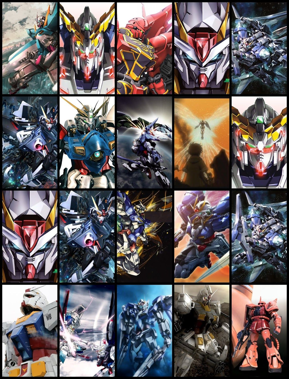 Gundam Wallpaper Pack For Android Phone (Part 01) Gundam