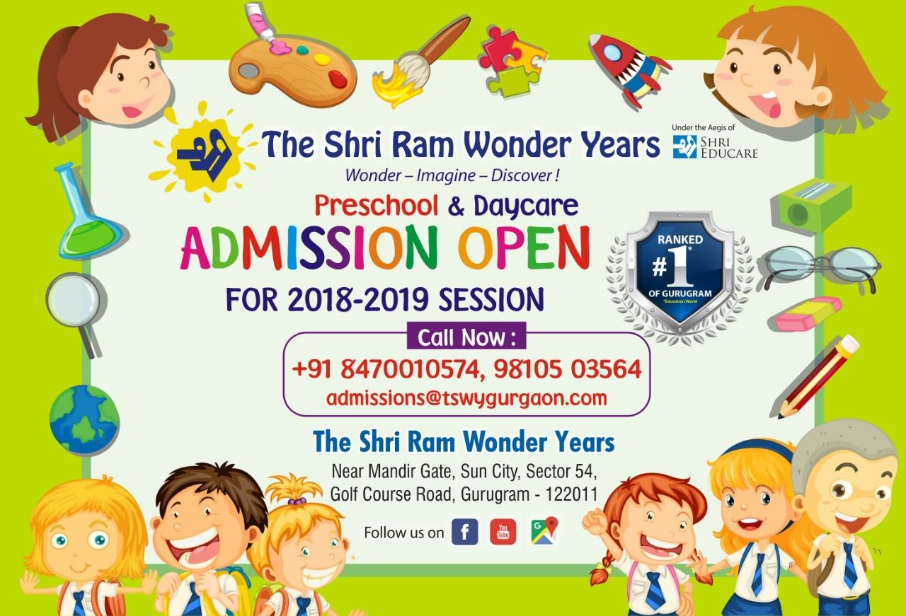 Admission Open For Preschool Daycare We Have An Amazing Childcare Center Where Enrichment And Warm Nurturing Me Childcare Center Preschool School Advertising