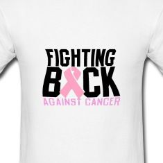 Show your support against cancer with this awesome tee!