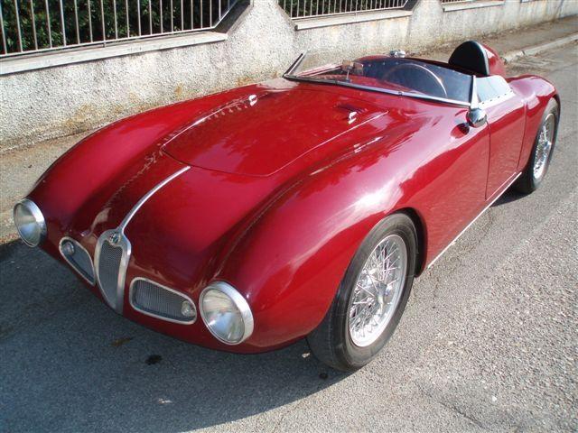 Alfa Romeo 1900 Barchetta 1953 A Red Barchettareminds Me Of A