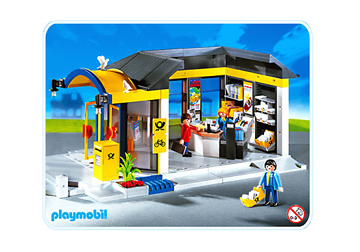 Post office pm germany playmobil germany playmobil for Playmobil cuisine 5329