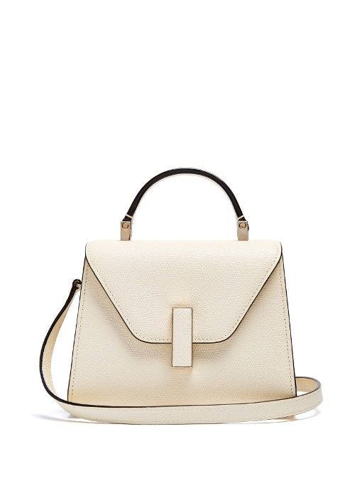 Iside mini grained-leather bag Valextra bI0Dubviy