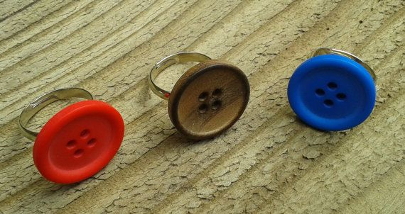 Button Ring (adjustable)