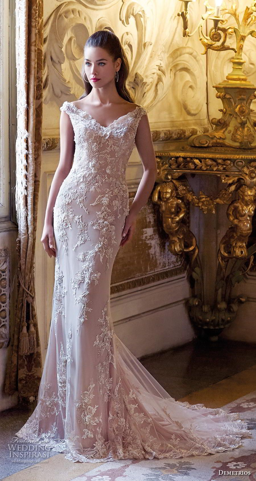 Platinum by demetrios wedding dresses wedding pinterest