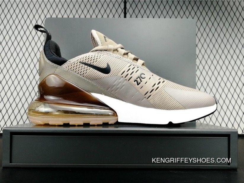 9716f6552690 For Sale New 2018 Brown Nike Air Max 270 Golden Tan Bubbles Ah8050 ...