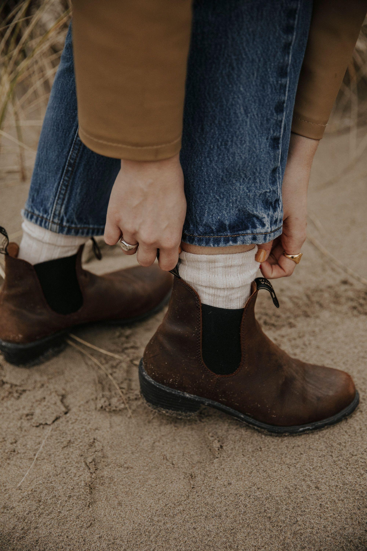 Women S Heel Boot In Antique Brown Style 1673 Women Heel Boots Boots Blundstone Women