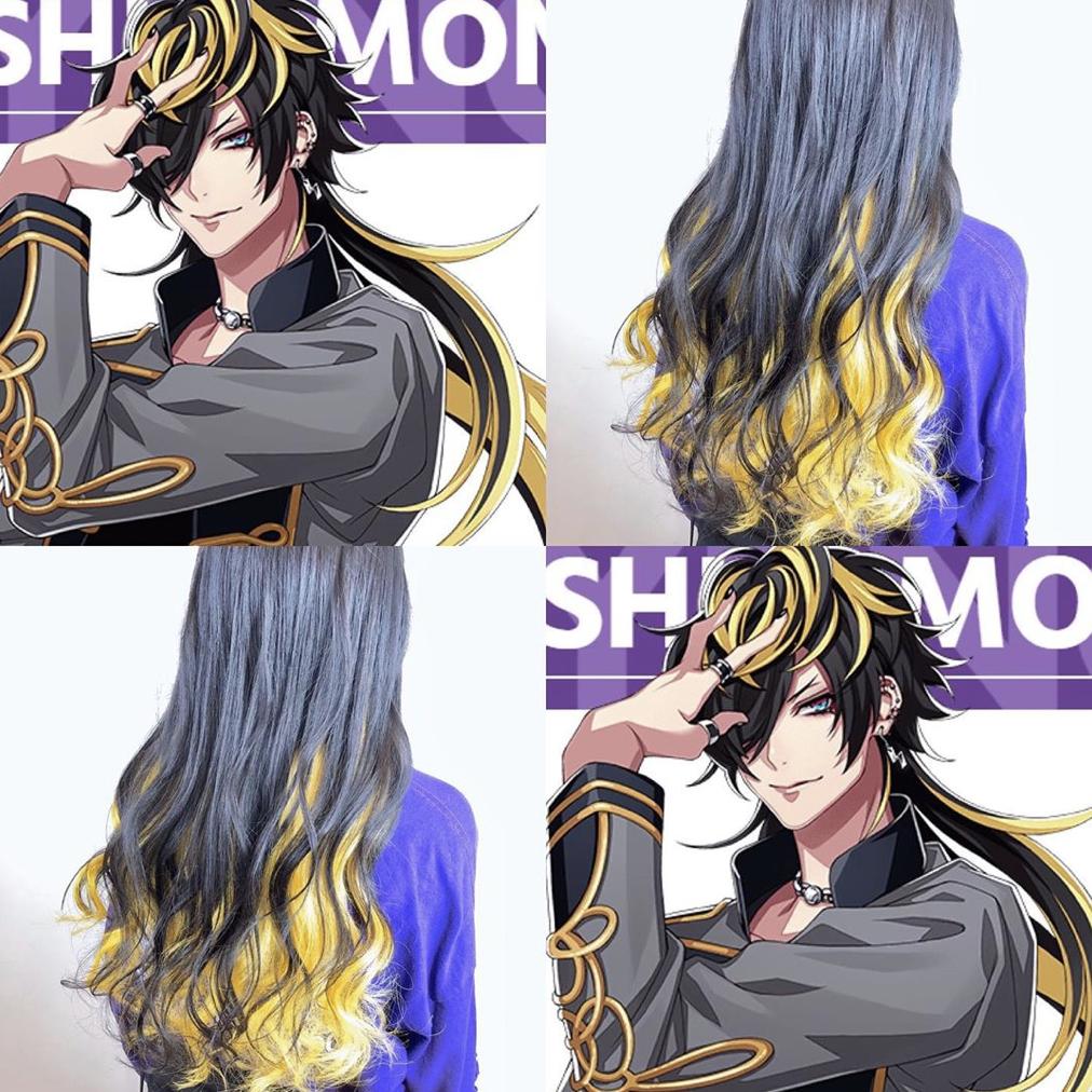 型 髪色 ヘアカラー ヘアスタイル グラデーションカラー インナーカラー ハイライトカラー ブラウン ベージュ グレージュ アニメ anime キャラクター character コスプレ 二次元 髪 色 ヘアカラー 冬 髪型