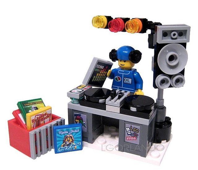 Lego DJ by lgorlando, via Flickr