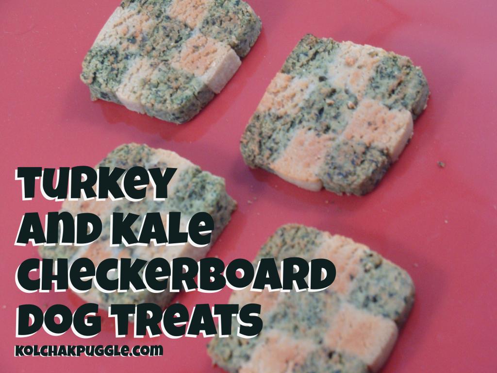 Classic Kol S Notes Turkey Amp Kale Checkerboard Dog Treat