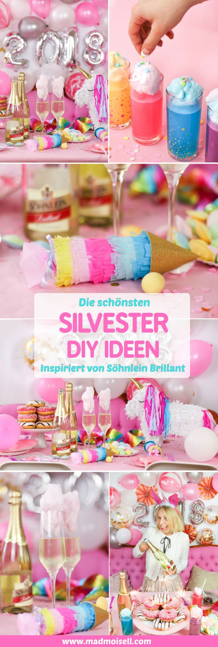 candy cotton drinks rezept geniale silvester party deko diy ideen diy basteln selbermachen. Black Bedroom Furniture Sets. Home Design Ideas