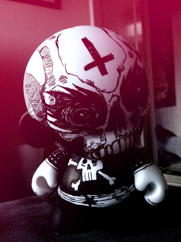 Munny 666 by Kraken , via Behance