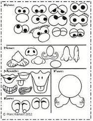 Resultado de imagen para mr potato head printable parts