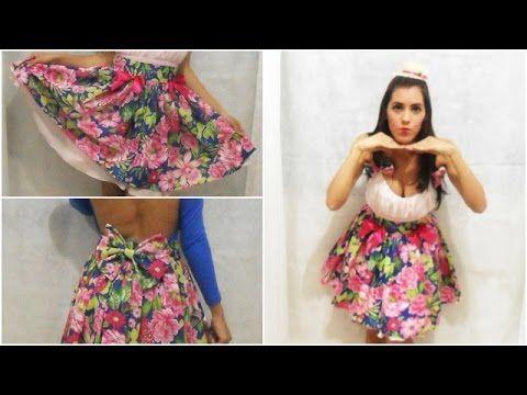 2893d8167c0c Faça seu vestido de Festa Junina – Saia de Chita | skirts to do ...