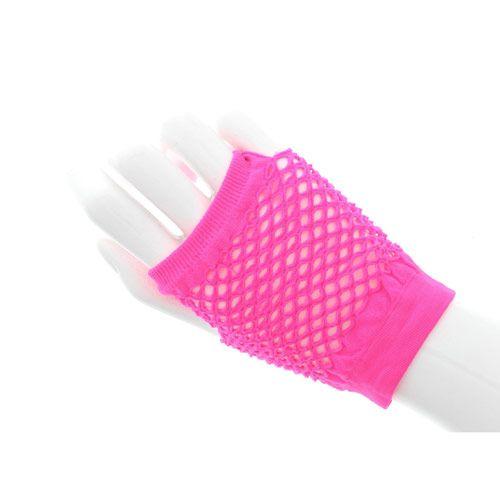 Short Fishnet Arm warmers