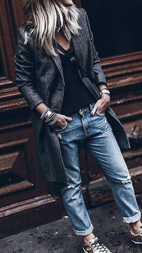 🖤 Comment porter un jean boyfriend avec style !