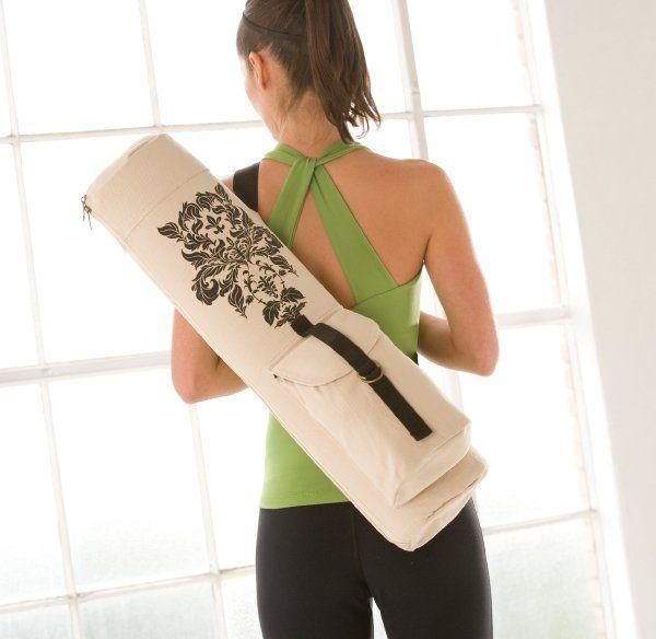 Gaiam Printed Yoga Mat Bag Damask Amazon Sports Outdoors