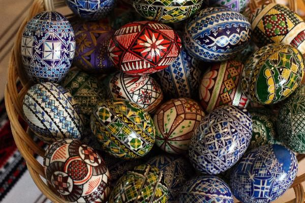 Painted Eggs Austria | Painted eggs prepared for coming Easter