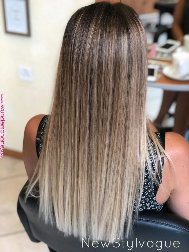 In 2020 Balayage Straight Hair Ombre Hair Blonde Ash Blonde Balayage