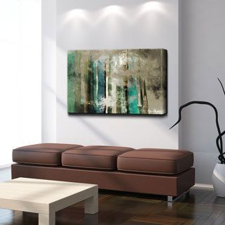 Canvas Wall Art alexis bueno 'smash vi' oversized canvas wall art | decorative