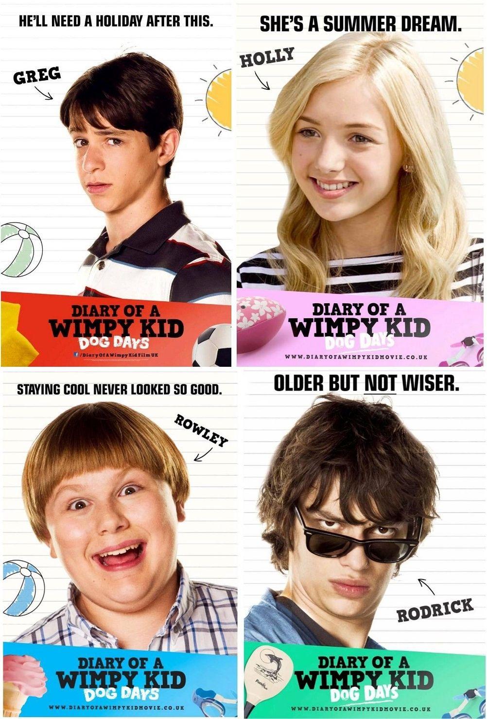 Diary Of A Wimpy Kid Dog Days Wimpy Kid Wimpy Kid Movie Wimpy