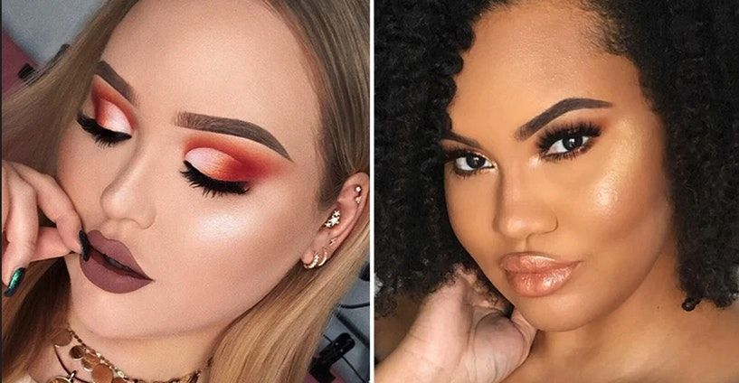 How You Can Achieve The Perfect Highlight Without Looking Like A Disco Ball Face Shapes Natural Skin Tone Beauty Guru