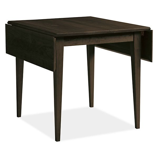 Adams Drop Leaf Dining Table Modern Dining Tables Modern