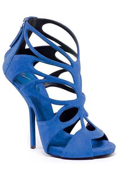 Blue elegant sandals- I want them!