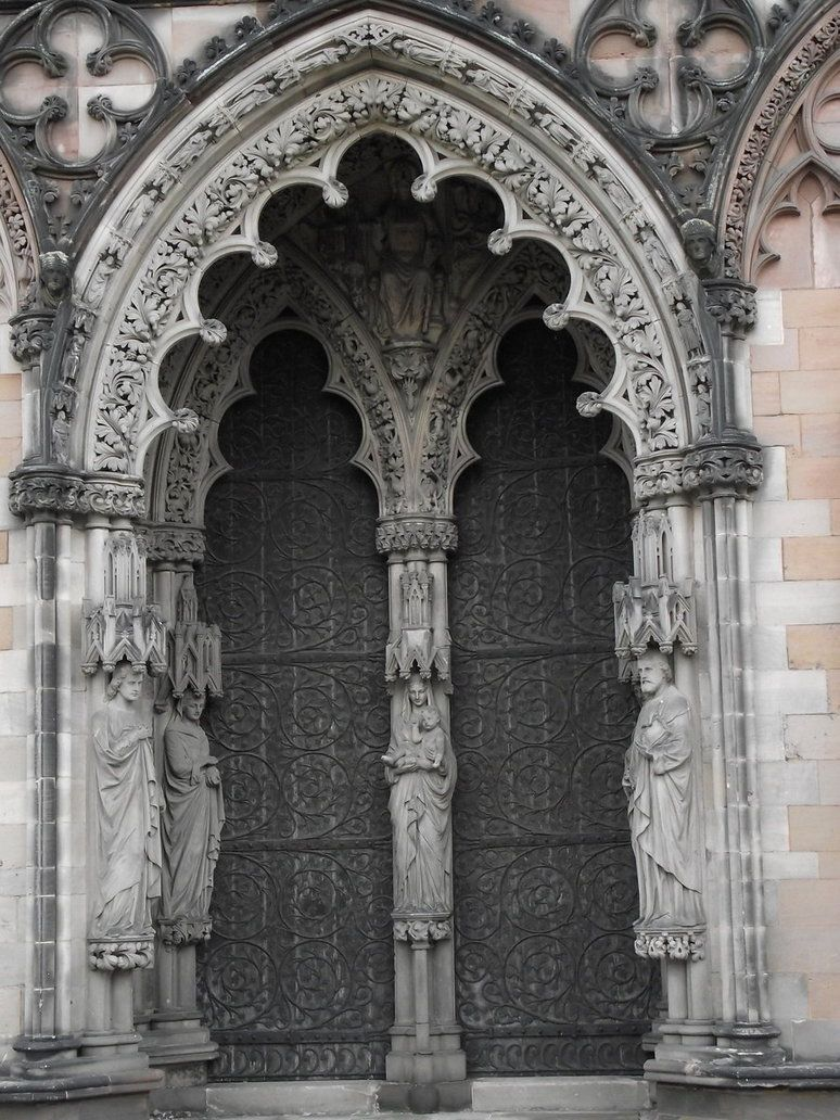 epic gothic design for my front door... or maybe side entrance. & epic gothic design for my front door... or maybe side entrance ... Pezcame.Com