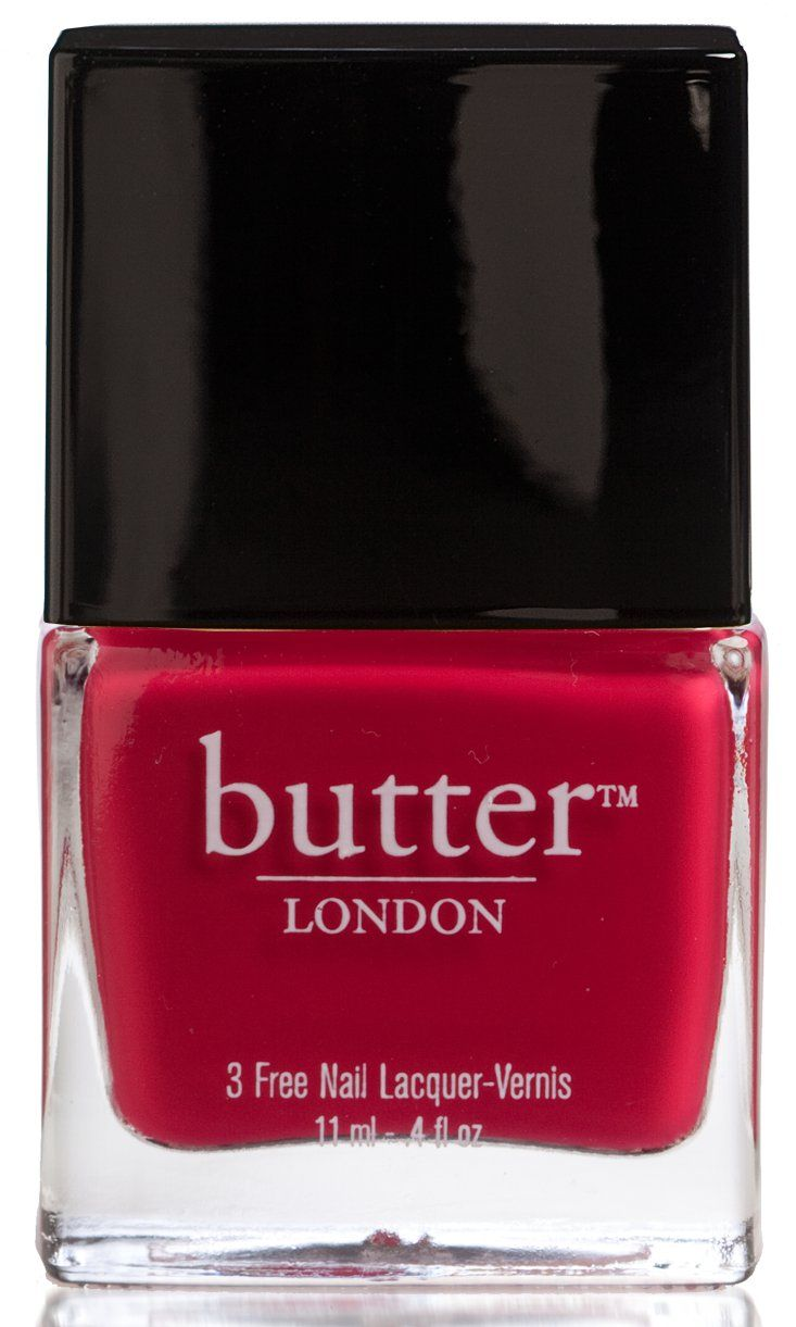 "Delicious Nail Designs: Butter London: Nail Lacquer In ""Blowing Raspberries"" / "" A"