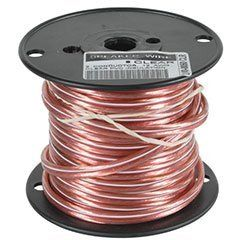 JSC Wire Speaker Wire Cable 12 AWG Clear 50 ft. USA by JSC Wire ...