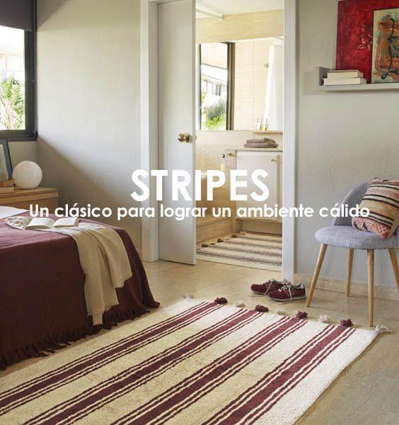 alfombras lavables lorena canals stripes