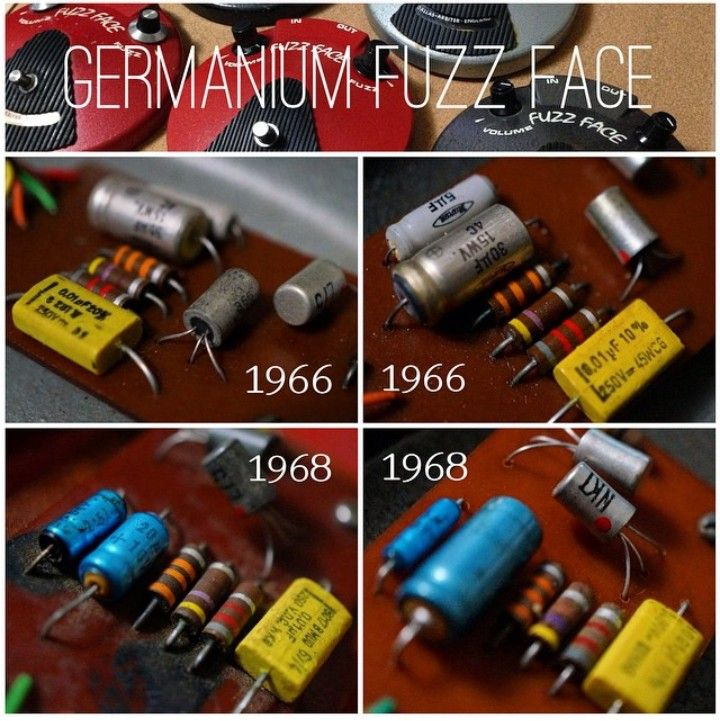 Dallas Arbiter Fuzz Face Pcbs With Germanium Transistors During The Years 1966 1968 My Own D I Y Fuzzfac Guitar Effects Guitar Effects Pedals Effects Pedals