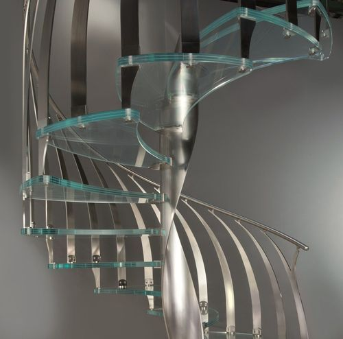 Best Spiral Staircase With A Single Internal Helical Side 400 x 300
