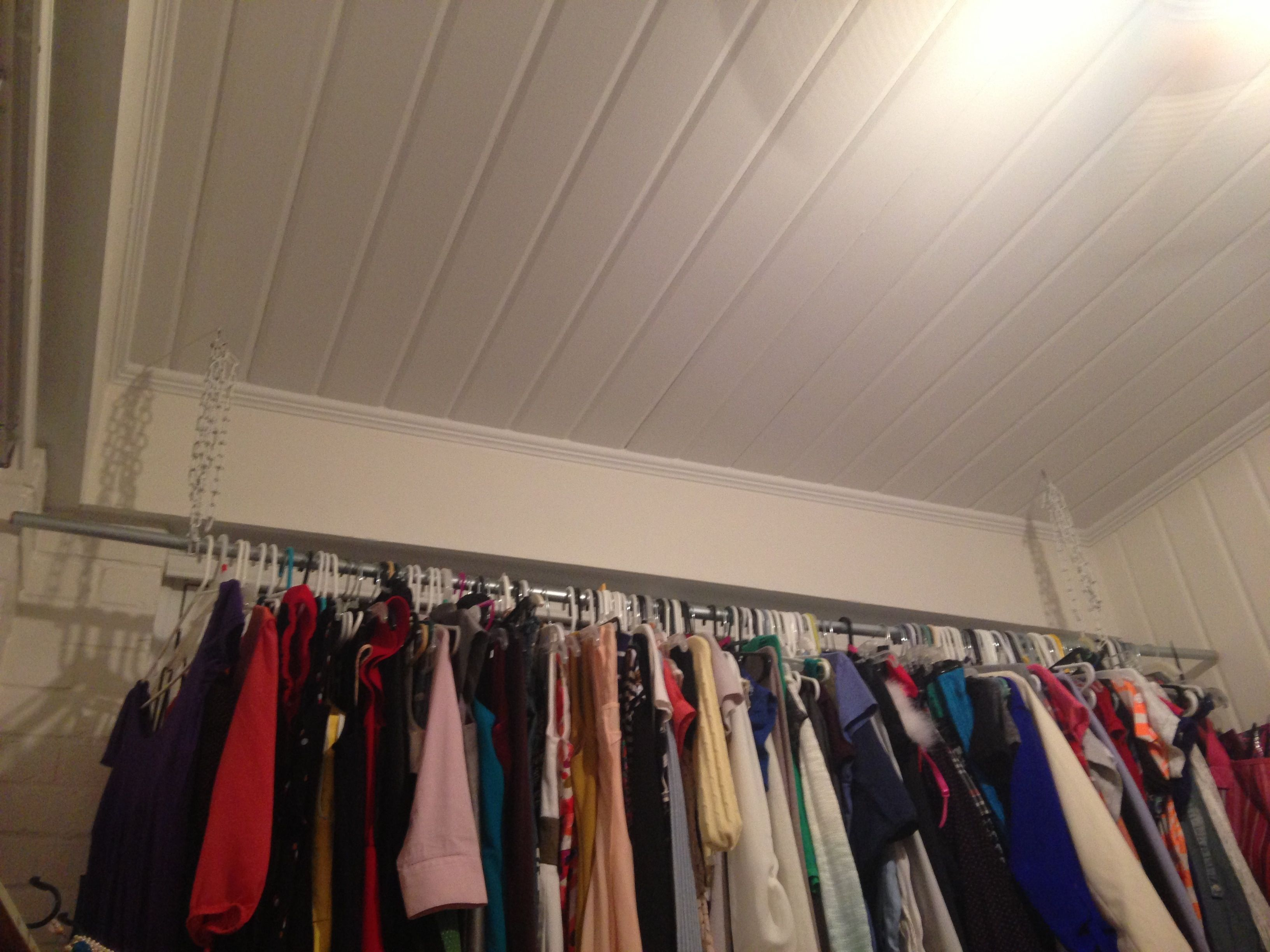 factory rails the hanging rack rail original racks black adorable full holmes in storage from or wardrobe metal ideas images shop size cream budget clothing of clothes