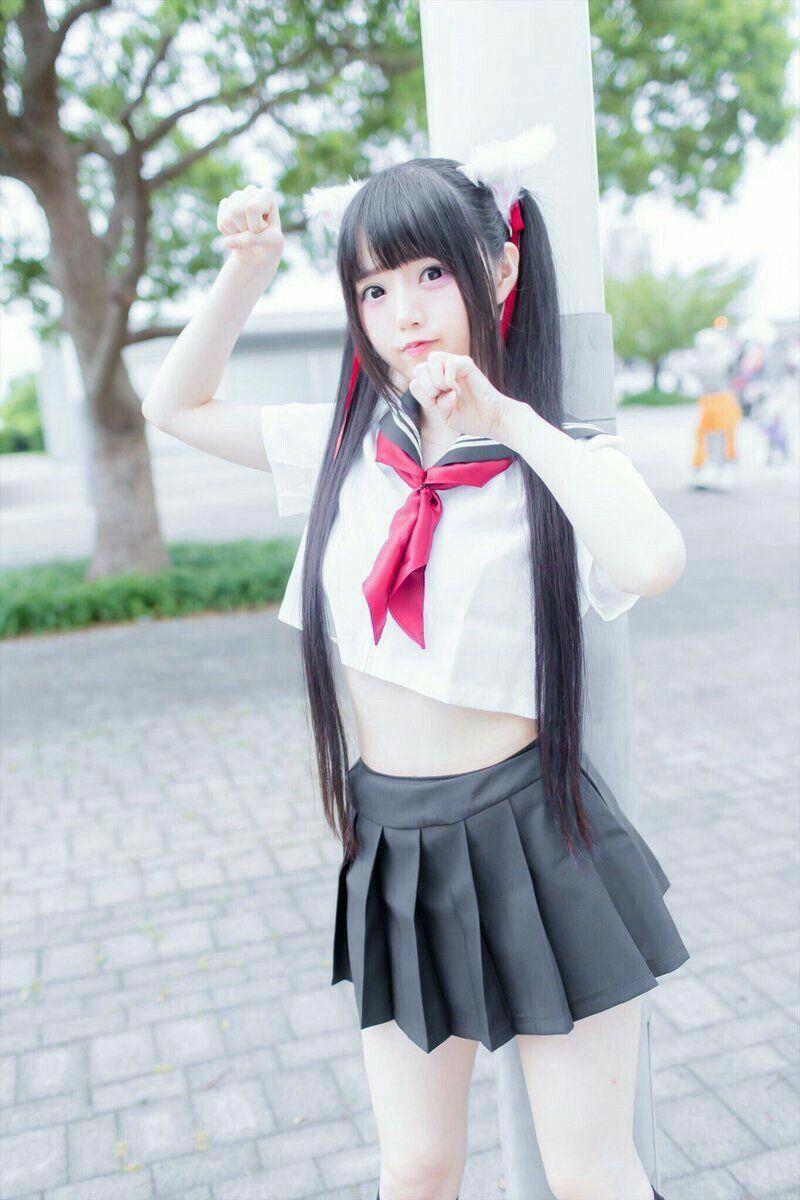 Cute asian cosplay girls pron movie