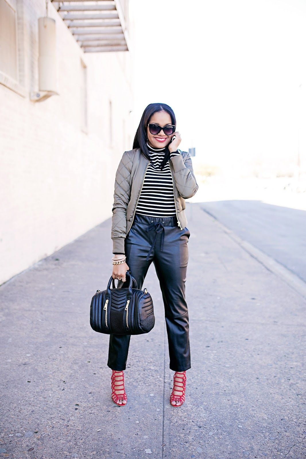 2019 year style- Jackets Leather trends spring fashion pictures
