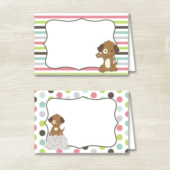 Puppy birthday, puppy themed party, puppy party, puppy decorations, table tents, food labels. Hey, I found this really awesome Etsy listing at https://www.etsy.com/listing/239269513/puppy-food-labels-instant-download