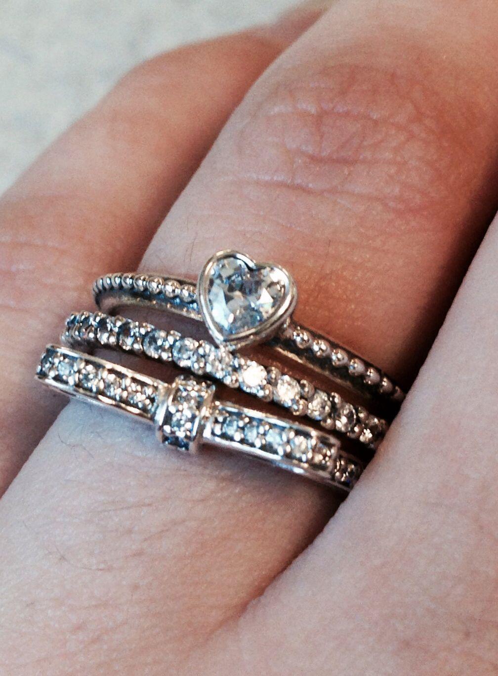 The promise rings my boyfriend got me.