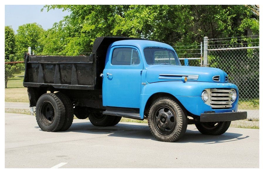Antique Ford Flatbed Trucks Old ford dump truck by | Cars / trucks ...