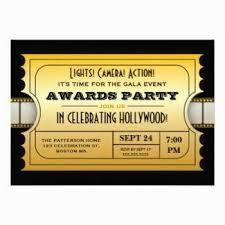 Invitaciones Para Imprimir Fiesta Hollywood Buscar Con