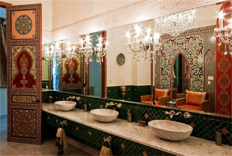 moroccan style décor for best resort design: moroccan style decor