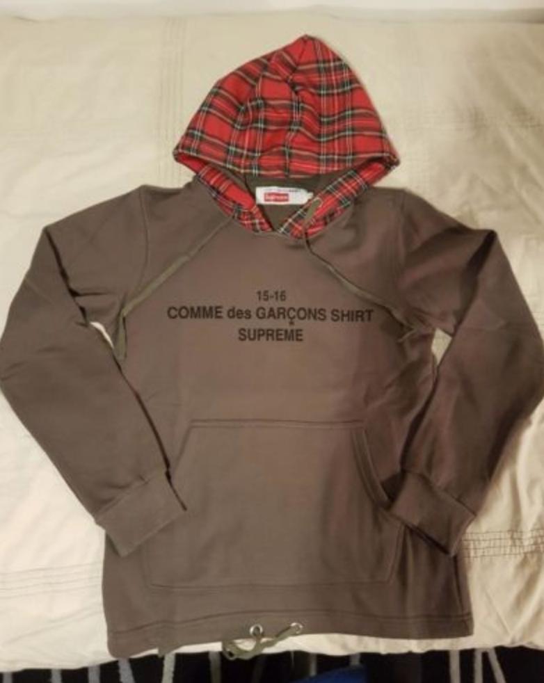 68fe69043565 FOR SALE  Supreme Comme des Garcons Hoodie Jumper 100% Authentic ...