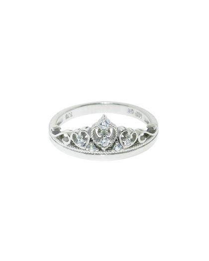 The Sterling Silver Pave Mary Crown Ring By Jewelmint Com 29 99 Honestly I Wouldn T Mind If Someone Proposed To Me With Thi Jewelry Cute Jewelry Crown Ring
