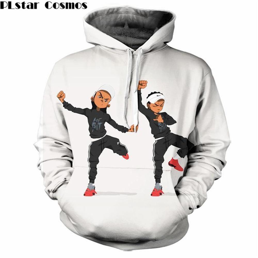 acdaf32c9 Mens 3d hooded riley freeman (boondocks) print sweatshirt | Products ...