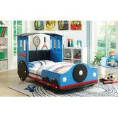 Found it at Wayfair - Tripton Twin Train Youth Bed