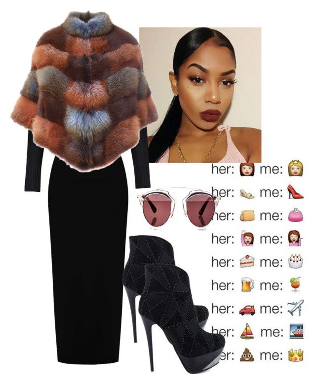 """Untitled #31"" by qveenli ❤ liked on Polyvore featuring Boohoo, BLANCHA, Luichiny and Christian Dior"