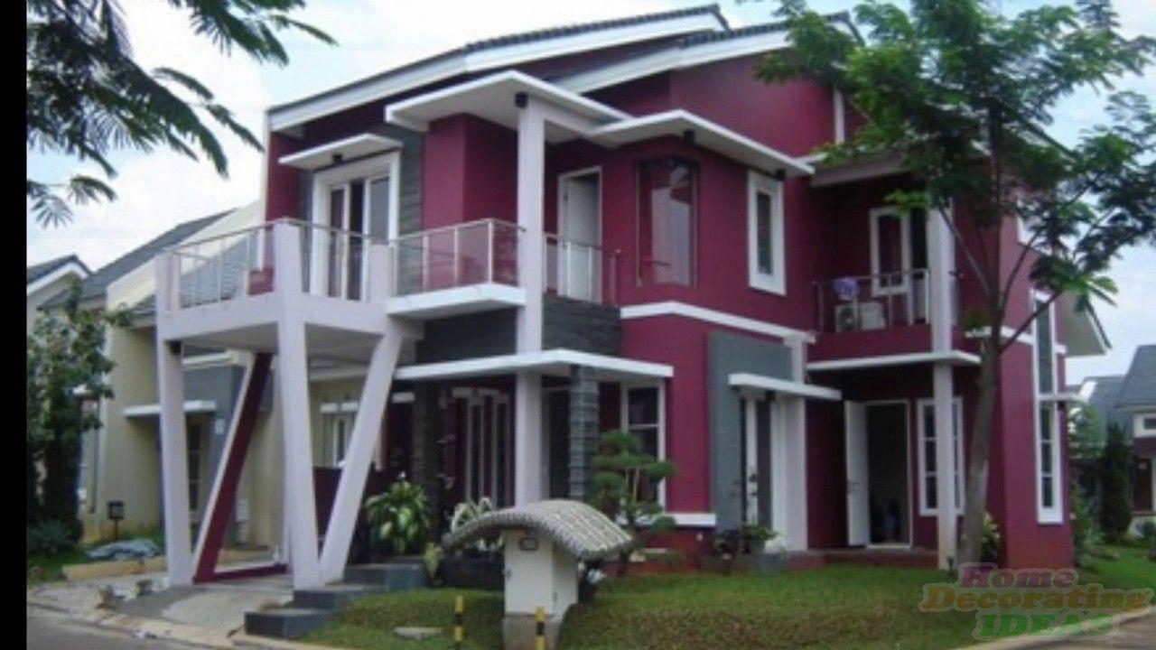 Warna Rumah Kayu Yang Cantik