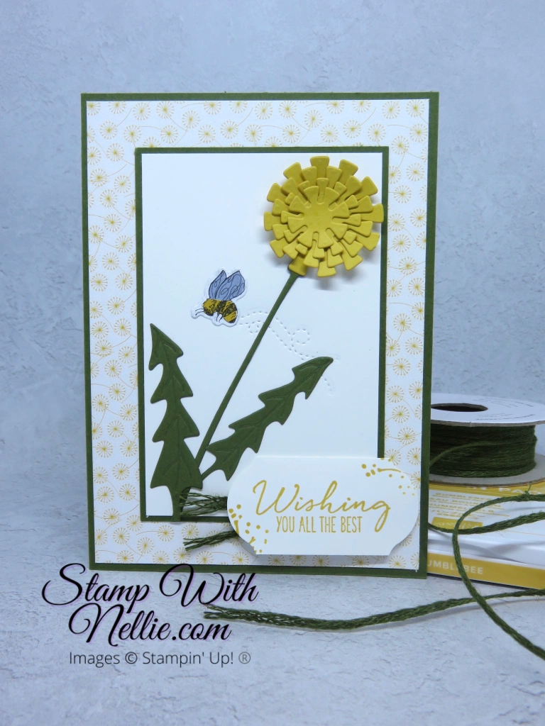 Wishing You All The Best – featuring Stampin' Up!