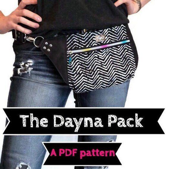 25a1b16cb4d3 Dayna Pack PDF sewing pattern, Linds Handmade Designs DIY fanny pack ...